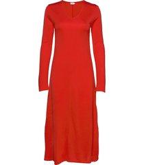 rosaline dress jurk knielengte rood filippa k