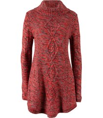 pullover poncho (rosso) - bpc bonprix collection