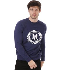 mens big logo crew sweatshirt