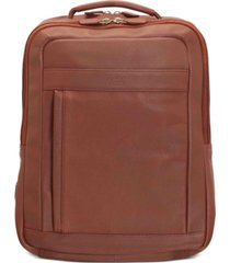 "mancini colombian collection slim 15.6"" laptop backpack"