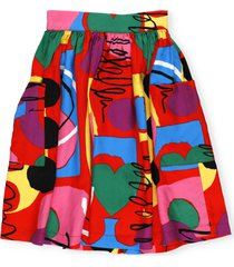 stella mccartney twill painting skirt