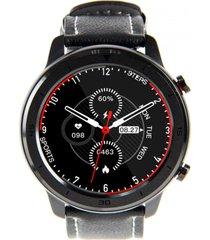 smartwatch reloj inteligente rd7 cuero negro lhotse