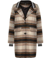 cappotto in simil lana (beige) - rainbow