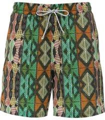 lygia & nanny gil elastic swim shorts - namu