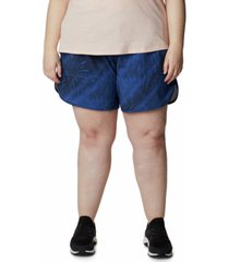 columbia plus size bogata bay printed stretch shorts