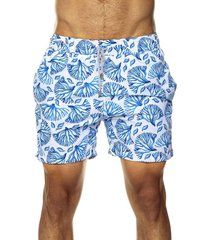 pantaloneta corales hombre