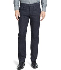 men's 7 for all mankind the straight luxe performance slim straight leg jeans, size 40 - blue
