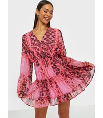 u collection leopard mini dress skater dresses