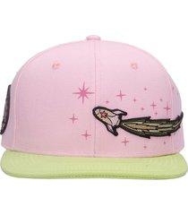 enterprise japan hats in rose-pink cotton