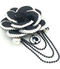 camelia brooch & pins fabric flower women accessories ideas gift birthday