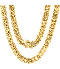18k gold plated stainless steel necklace