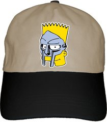 bs mf bart doom dad hat cap hip-hop, dilla, choose white, black, or khaki color