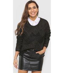 sweater negro laila milena