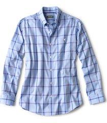 hidden button-down wrinkle-free comfort stretch shirt - regular