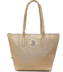 bolso dorado us polo assn