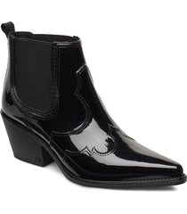 winona shoes boots ankle boots ankle boots with heel svart sam edelman