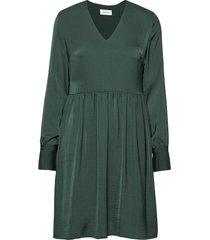 foster dress jurk knielengte groen modström