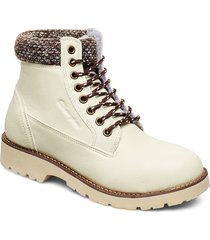 high cut shoe upstate shoes boots ankle boots ankle boot - flat beige champion