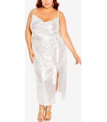 city chic trendy plus size disco fever dress