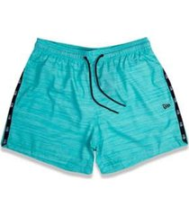 shorts praia tape new era masculino