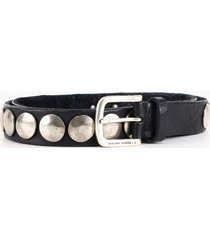golden goose buckle belt black