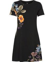 vest las vegas dresses t-shirt dresses zwart desigual