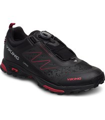 anaconda light boa gtx shoes sport shoes running shoes svart viking