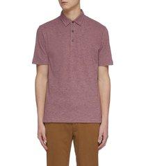 classic cotton blend polo shirt