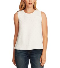 vince camuto studded tank top
