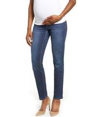 1822 denim straight leg maternity jeans, size 31 in lennox at nordstrom