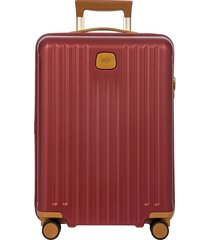 men's bric's capri 2.0 21-inch rolling carry-on -
