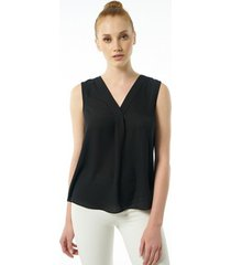 blouse auden cavill ac19sshtw4504black blouse