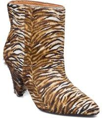 myrassa boot low 12876 shoes boots ankle boots ankle boot - heel multi/mönstrad samsøe samsøe