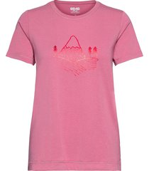 leiria w tee t-shirts & tops short-sleeved rosa 8848 altitude