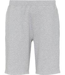 sunspel loopback jersey shorts - grey
