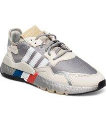 nite jogger låga sneakers grå adidas originals