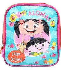 lancheira escolar infantil pacific o show da luna aloha