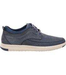 zapato casual stix azul bosi