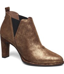 m-4303 shoes boots ankle boots ankle boot - heel guld wonders