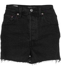 ribcage short black lake shorts denim shorts svart levi´s women
