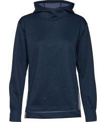 q speed run crew sweatshirt hoodie blå new balance