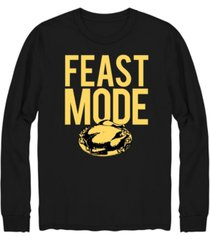 hybrid men's feast mode long sleeve t-shirt