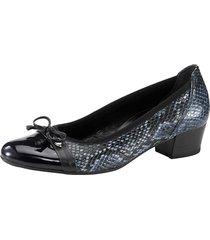 skor gabor blå