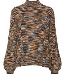 franklin t-neck gebreide trui multi/patroon modström