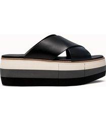 paloma barcelo' sandali dorothea colore nero
