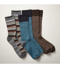 countryman socks - blue s/3