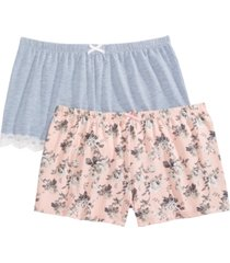 flora by flora nikrooz olri 2pk pajama shorts