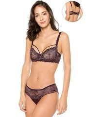 brasier tipo balconette florencia jessie de la rosa lingerie para mujer