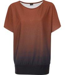 maglia con spalle scoperte (marrone) - bodyflirt