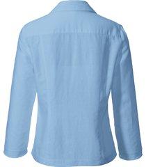 blouse met 3/4-mouwen van peter hahn blauw
